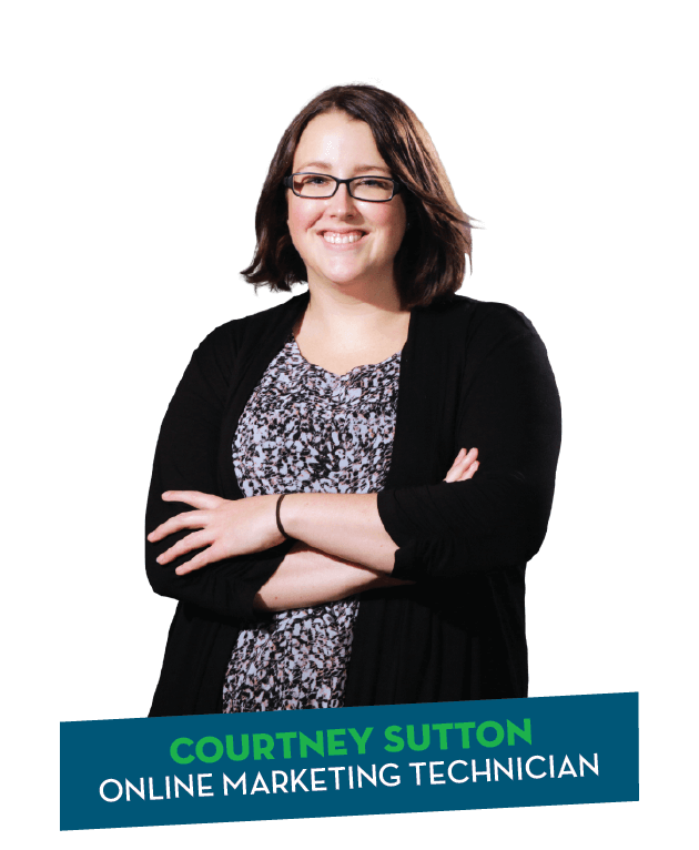 Courtney Sutton - Online Marketing Technician with Insight Brand & Marketing Studio